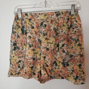 Comptoir Des Cotonniers Jardin Floral Shorts